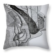 Kiganda Dance  Throw Pillow