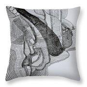 Kiganda Dance  Throw Pillow
