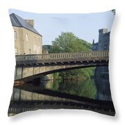 Kilkenny Castle, Kilkenny, Co Kilkenny Throw Pillow