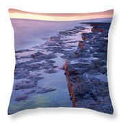 Killala Bay, Co Sligo, Ireland Bay At Throw Pillow