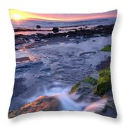 Killala Bay, Co Sligo, Ireland Sunset Throw Pillow