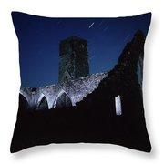 Killcrea Priory, County Cork, Ireland Throw Pillow