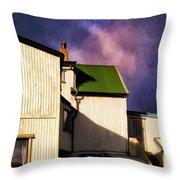 Killer Storm Coming Throw Pillow