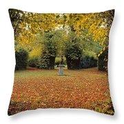 Killruddery House And Gardens, Bray, Co Throw Pillow