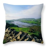 Killybegs, Co Donegal, Ireland Stone Throw Pillow