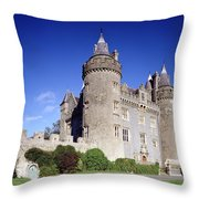 Killyleagh Castle, Co. Down, Ireland Throw Pillow