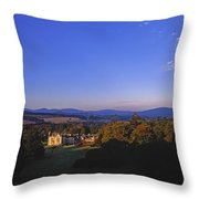 Kilruddery Demesne, From The Rockery Throw Pillow