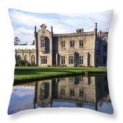 Kilruddery House And Gardens, Co Throw Pillow