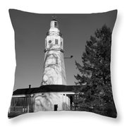 Kimberly Point Lighthouse Throw Pillow