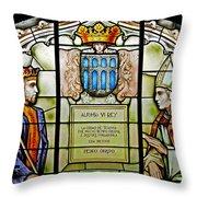 King Alfonso Vi ... Throw Pillow