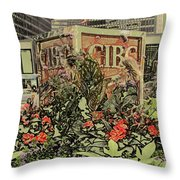 King And Bay Streets Throw Pillow