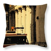 King Car Throw Pillow
