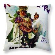 King Carnaval March - Mardi Gras Throw Pillow