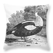 King Duck Throw Pillow