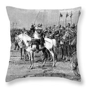King Gustavus II Of Sweden Throw Pillow