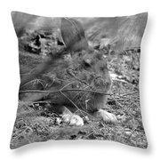 King Hare Throw Pillow