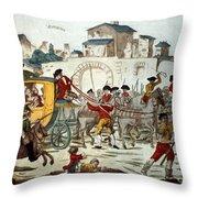 King Louis Xvi: Arrest Throw Pillow