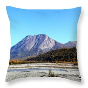 King Mountain Throw Pillow