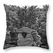 King Of The Hill Pictured Rocks Throw Pillow