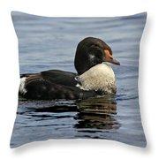King Of The Lake Throw Pillow