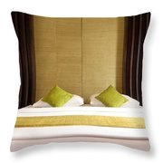 King Size Bed Throw Pillow