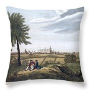 Kings College, New York Throw Pillow by Granger