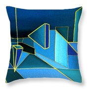 King's Highway 8 Throw Pillow
