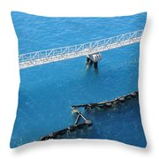 King's Wharf Throw Pillow