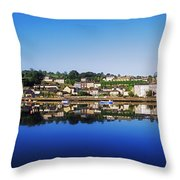 Kinsale, Co Cork, Ireland Throw Pillow