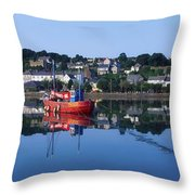 Kinsale Harbour, Co Cork, Ireland Throw Pillow