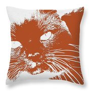 Kit Kat Throw Pillow