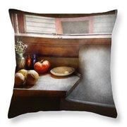 Kitchen - Sink - Farm Kitchen  Throw Pillow