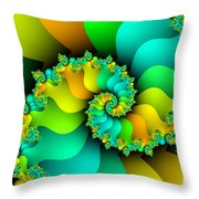 Kitchen Garden Throw Pillow