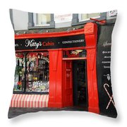 Kittys Traditional Sweets  Throw Pillow