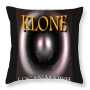 Klone Book Cover Throw Pillow