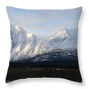 Kluane National Park, Yukon Throw Pillow
