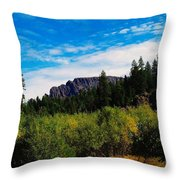 Klutchman Rock  Throw Pillow