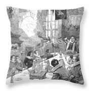 Knighting The Sirloin Throw Pillow by Granger