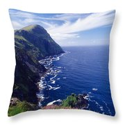 Knockmore Mountain, Clare Island Throw Pillow