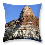Kolob Canyon Utah Throw Pillow