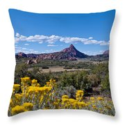 Kolob Terrace Afternoon Throw Pillow