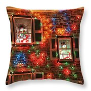 Koziar's Christmas Village Throw Pillow