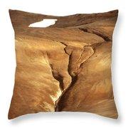 Krafla Throw Pillow