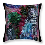 Kritter Valley Throw Pillow