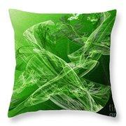 Krypton Lace Throw Pillow