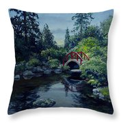 Kubota Reflections Throw Pillow