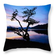Kylemore Lake, Connemara, Co Galway Throw Pillow