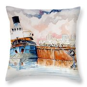 La Fine Oltre Il Canale Throw Pillow