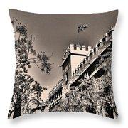 La Lonja De La Seda - Valencia Throw Pillow