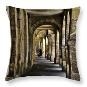 La Rochelle Sidewalk Throw Pillow